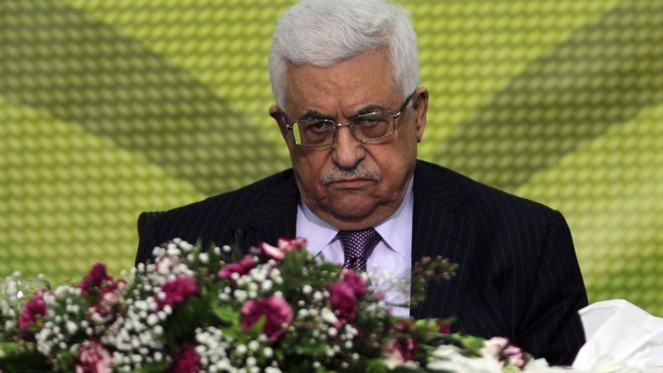 Mahmud Abbas im Dezember in Ramallah