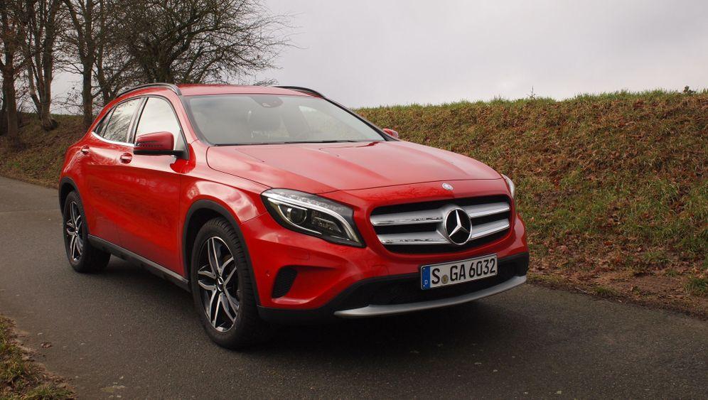 Mercedes GLA 200: Nur ein paar Zentimeter