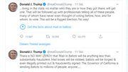 Twitter zerpflückt Trump-Tweet in erstem Faktencheck