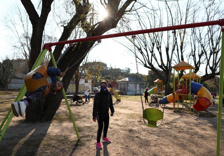 Spielplatz in Buenos Aires