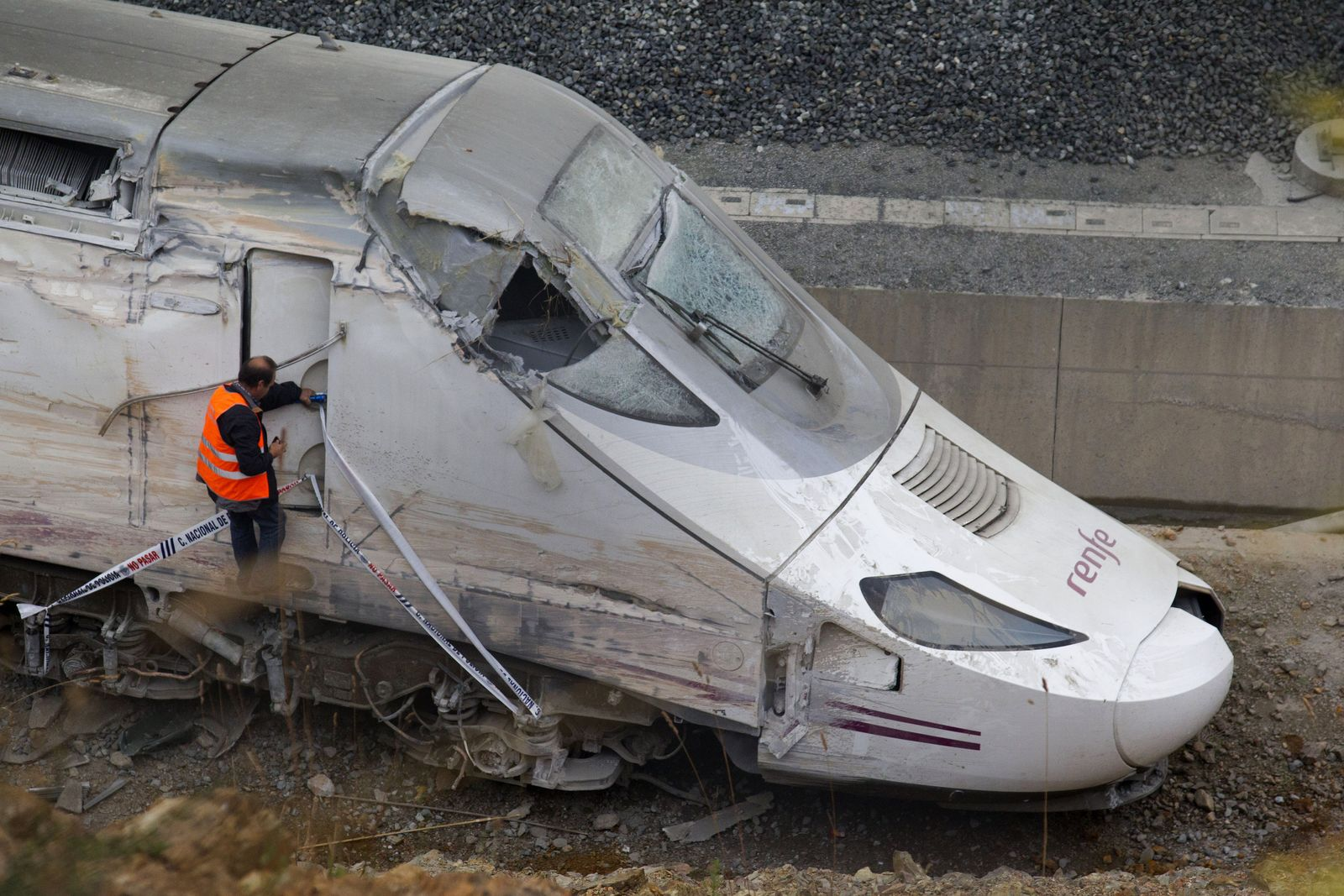 Spanien Zugunglück