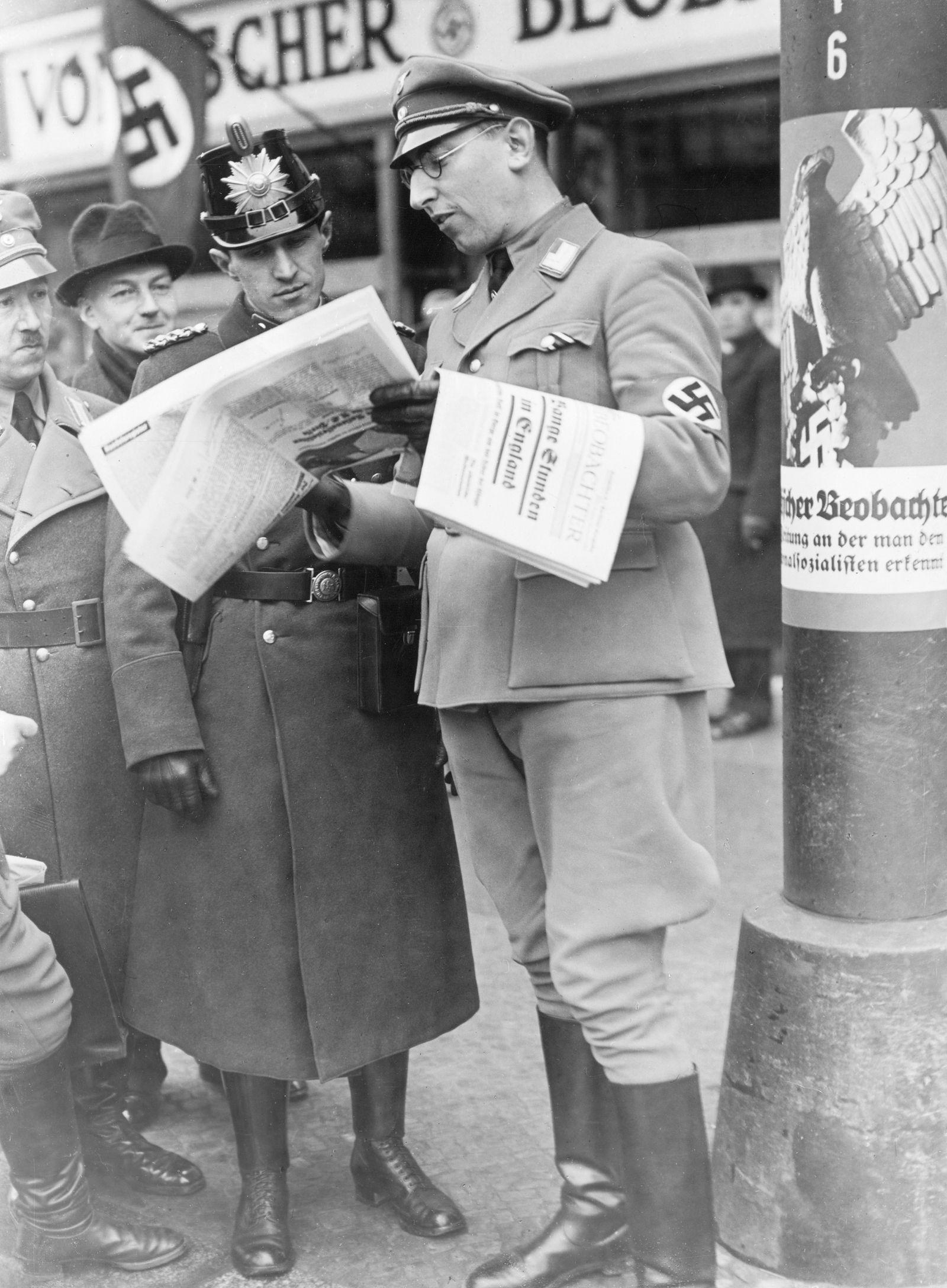 Propagandawoche für die nationalsozialistische Presse im Januar 1936.