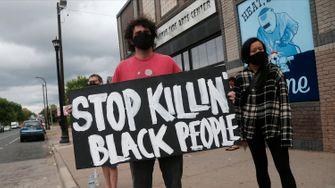 """""""Schwarz zu sein, darf keine Todesstrafe sein"""""""