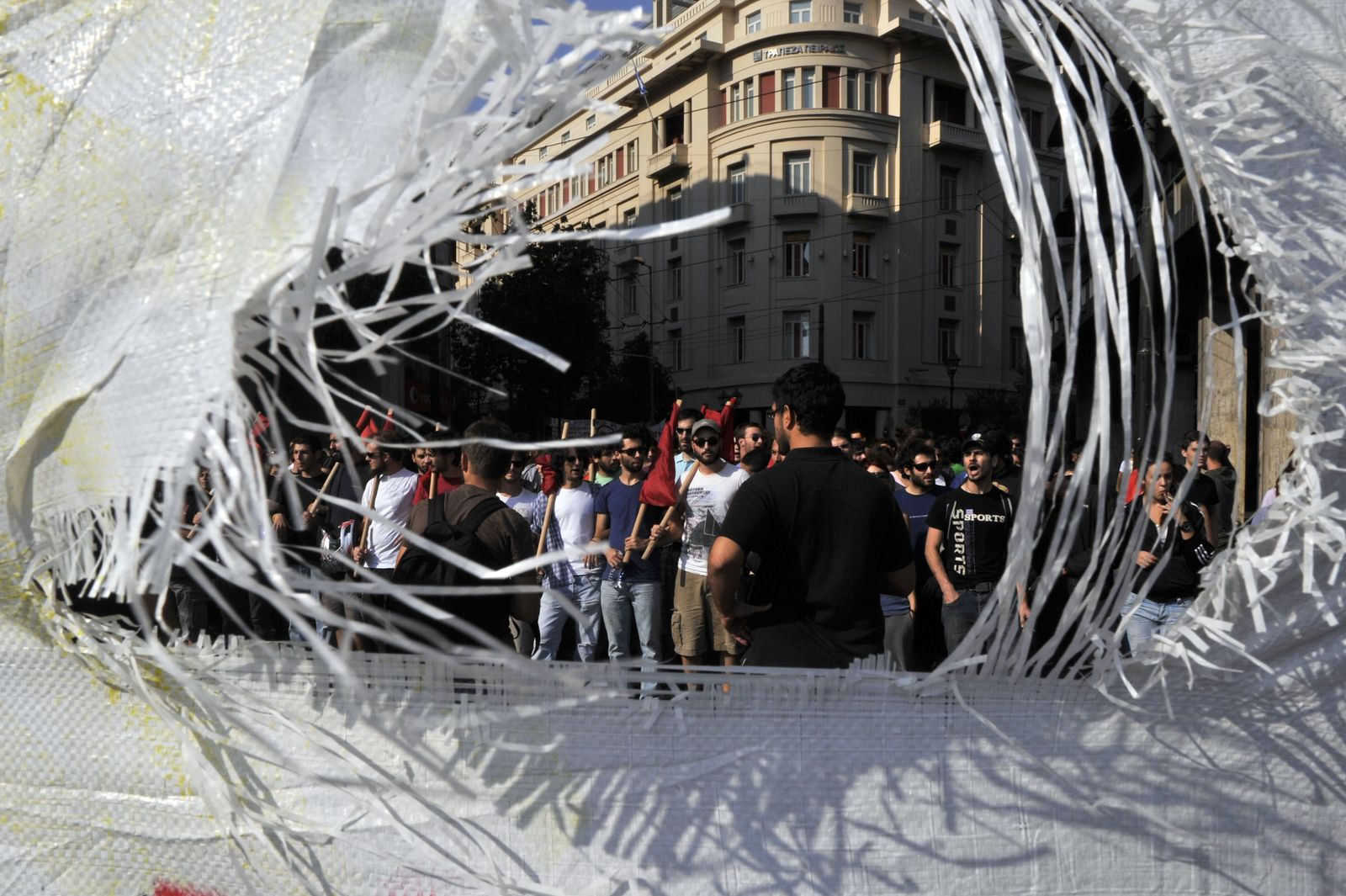 Griechenland/ Krise/ Proteste/ Studenten