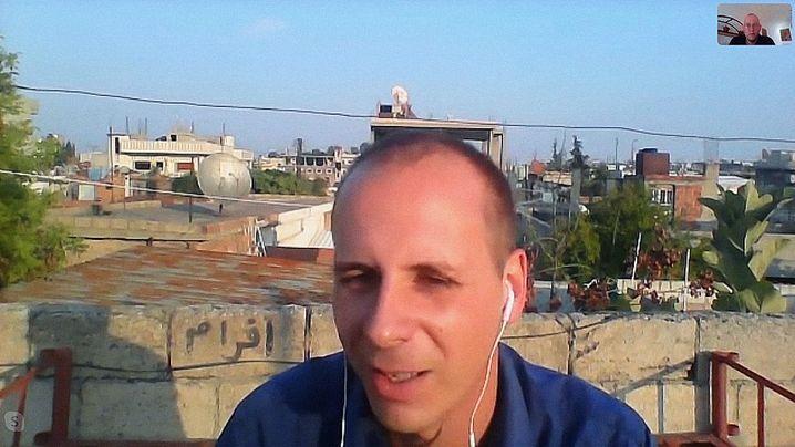 """Felix im Skype-Interview mit """"Panorama"""": Ökologische Projekte unterstützt"""