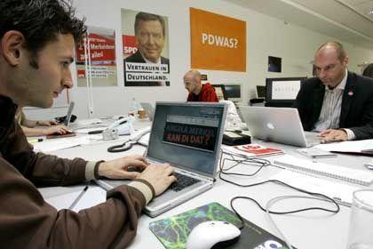 Mitarbeiter im SPD-Büro: Von 17,33 Euro an die Zeitarbeitsfirma gingen weniger als sieben Euro an die Mitarbeiter