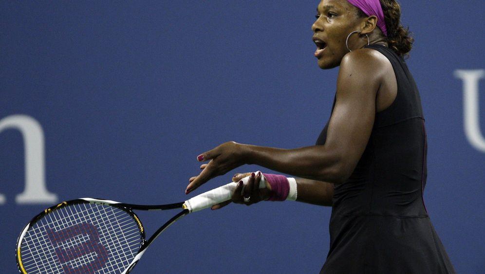 Tennis: Böse Worte, harte Strafe