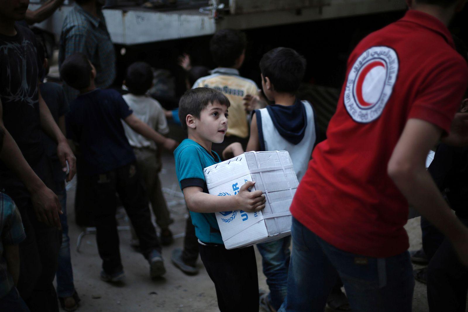 Syrien / Hilfslieferung
