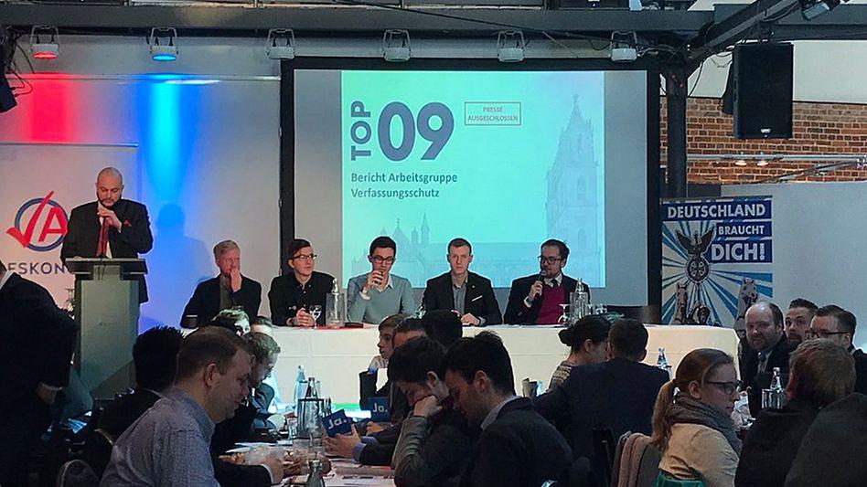 Bundeskongress der Jungen Alternative in Magdeburg