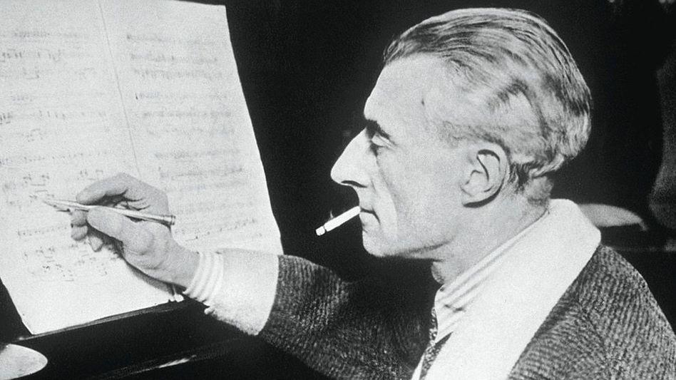 Komponist Ravel um 1928: «Hilflos lächelnd und von Sprachverödung gezeichnet«