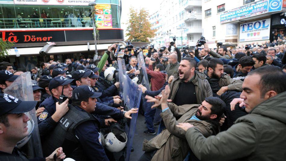 Proteste in Ankara