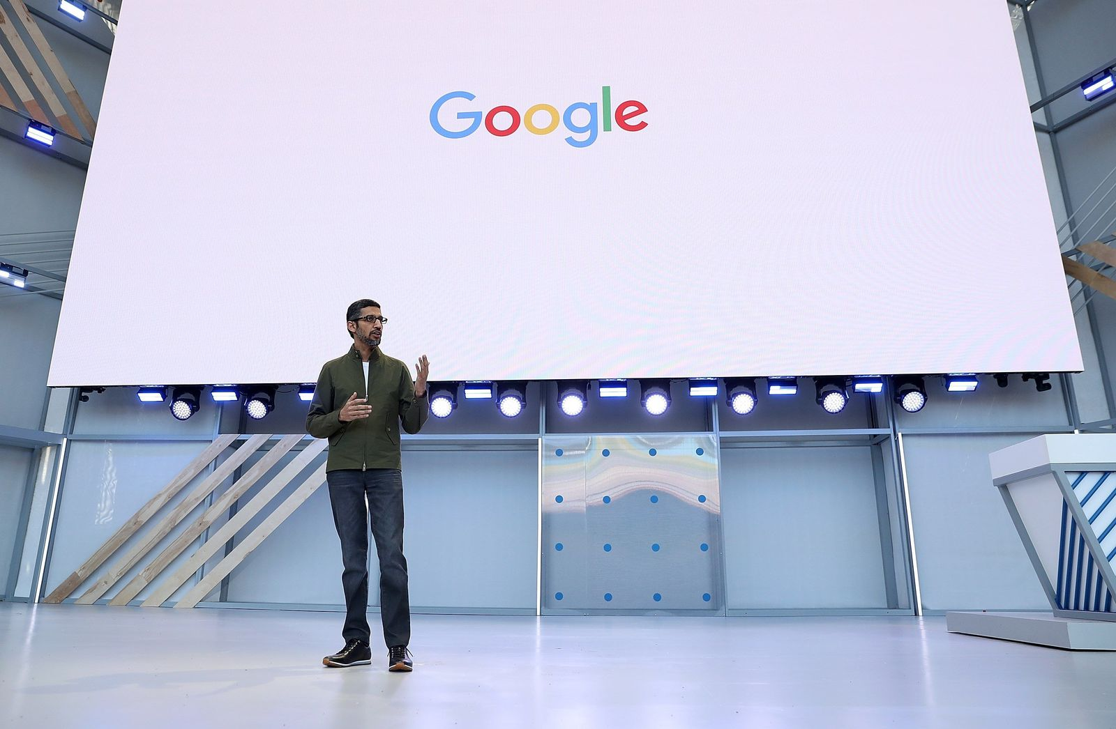 US-GOOGLE-HOSTS-ITS-ANNUAL-I/O-DEVELOPERS-CONFERENCE