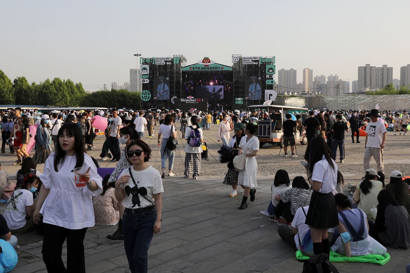 Strawberry Music Festival in Wuhan