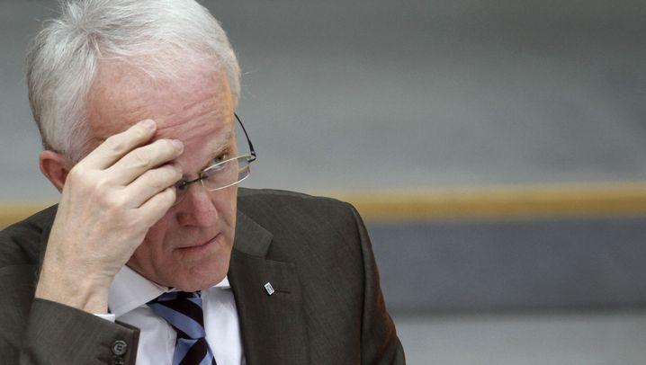 NRW-Wahl: Rüttgers in Not