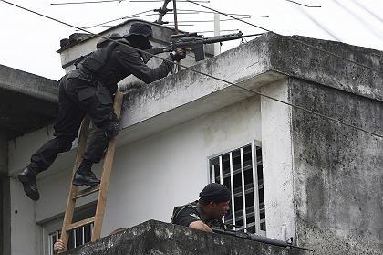 """Razzia in Rio: """"Die Kriminellen haben das Feuer auf die Polizei eröffnet"""""""