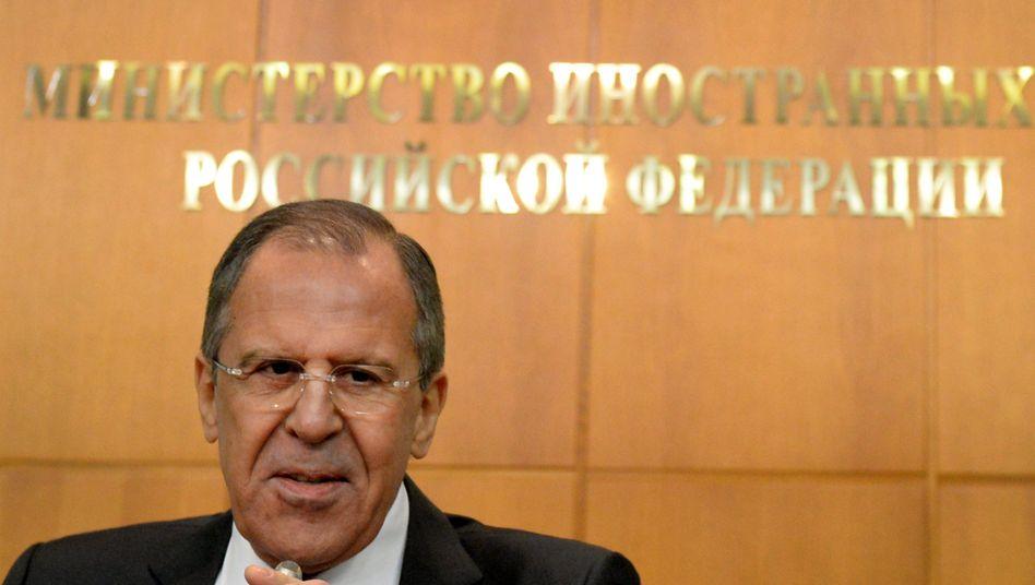 """Russlands Außenminister Lawrow: """"Dem Westen wird es niemals gelingen, Russland zu isolieren"""""""