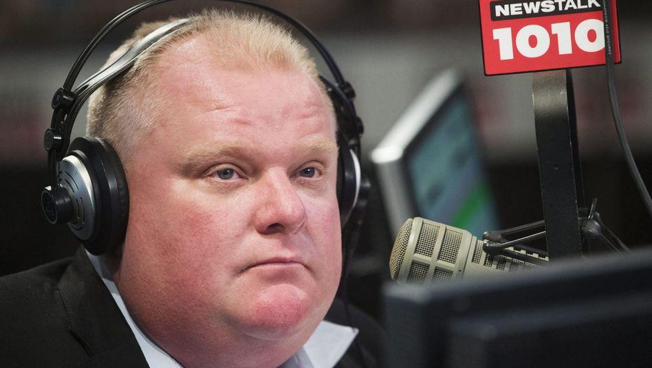 """Bürgermeister Rob Ford: """"Ja, ich habe Crack geraucht"""""""
