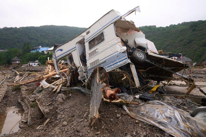 In Altenahr besteht weiterhin Hochwassergefährdung