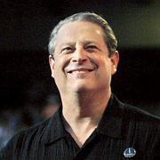 Hightech-Investor Al Gore: Der Umweltaktivist lächelt im Sommer auf einem Live-Earth-Konzert dem Publikum zu