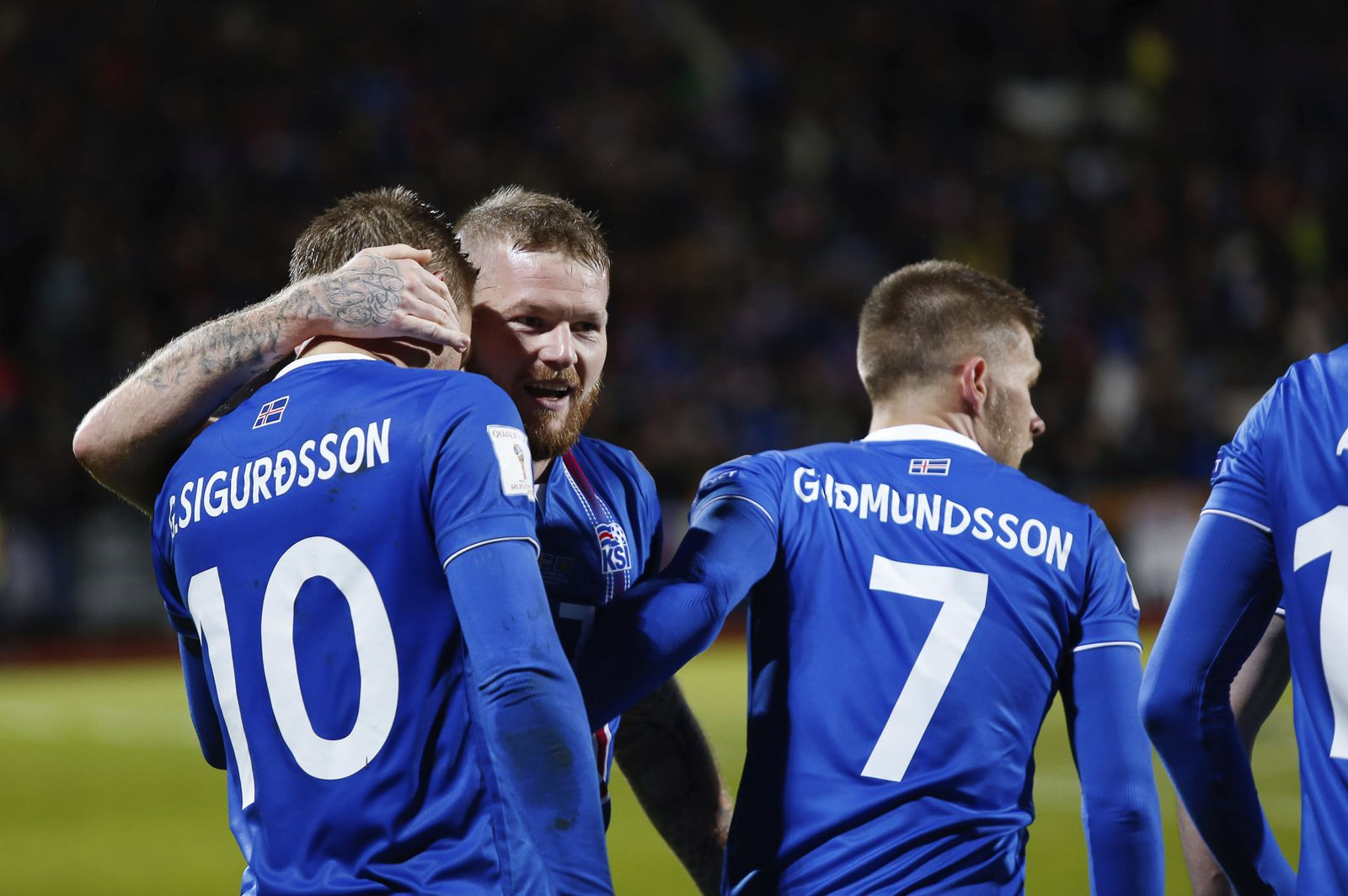 Soccer WCup 2018 Iceland Kosovo