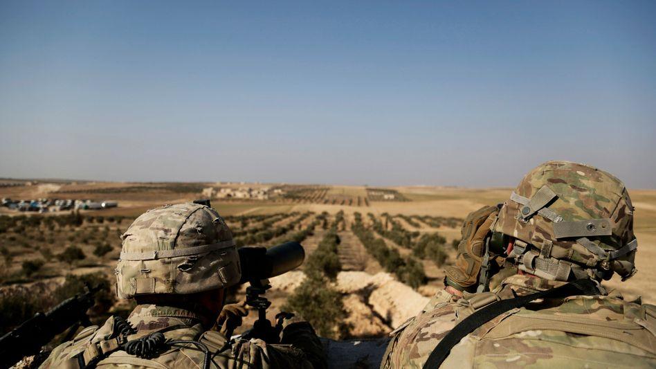 US-Soldaten in Syrien (Archivaufnahme)