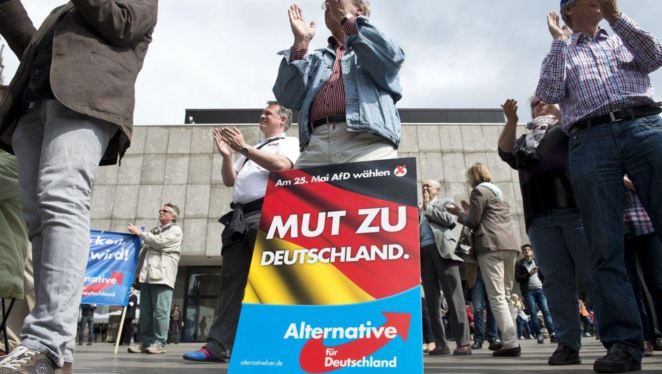 AfD-Anhänger in Köln (Archivbild): Ruf nach einem stärkeren Nationalgefühl