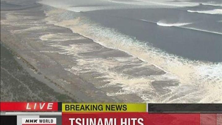 Tsunami: Die Flutwellen an Japans Ostküste