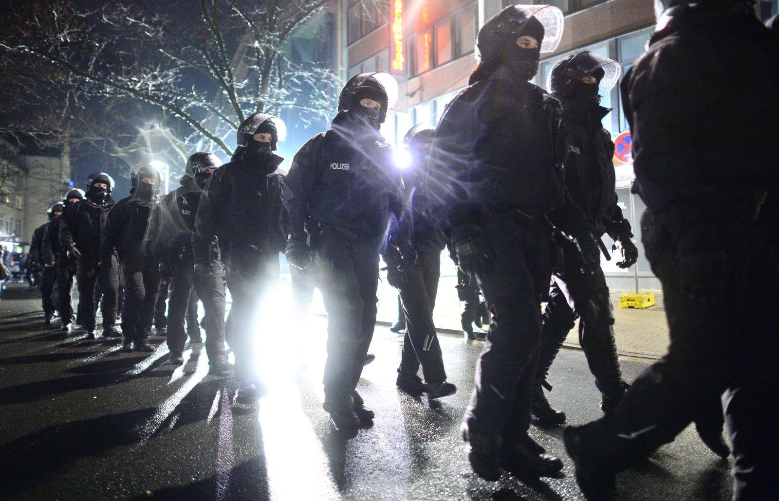 Demo islamkritische-Bewegung Hagida in Hannover