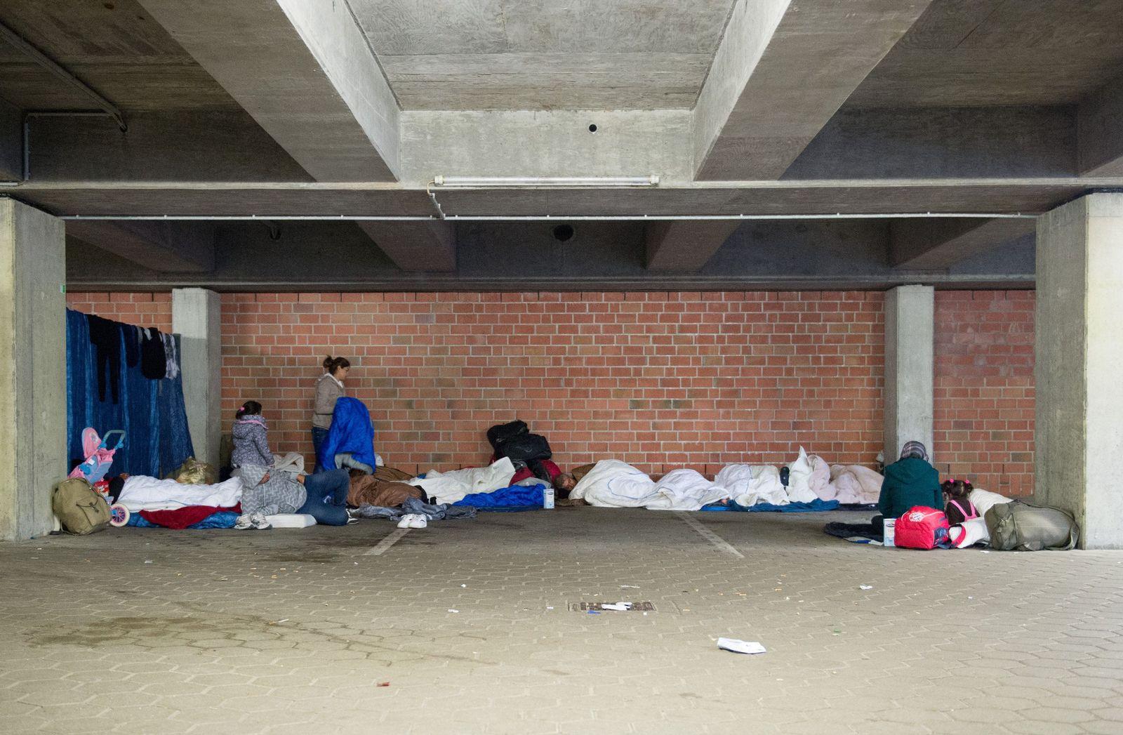 Flüchtlinge in Hamburg