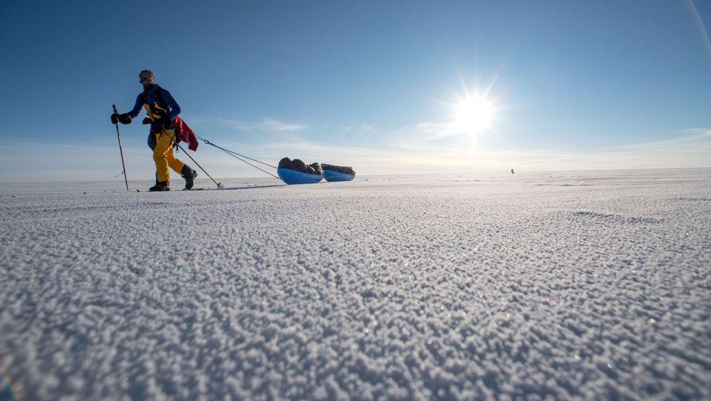 Grönland-Expedition von Stefan Glowacz: Abstieg zum Sund