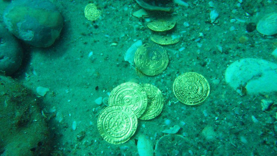 """Goldmünzen am Meeresboden: Ein Schatz von """"unschätzbarem Wert"""""""