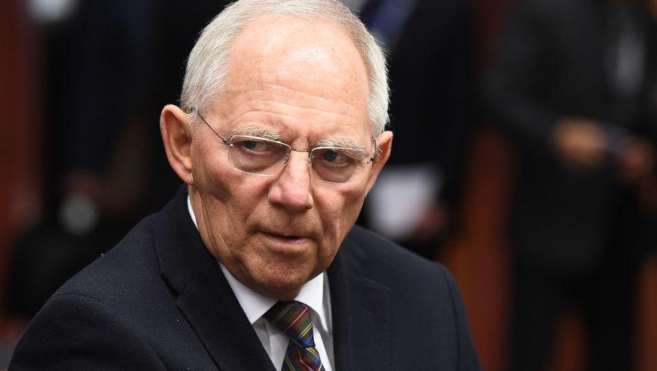 Finanzminister Schäuble: Ein Europa nach deutschen Regeln
