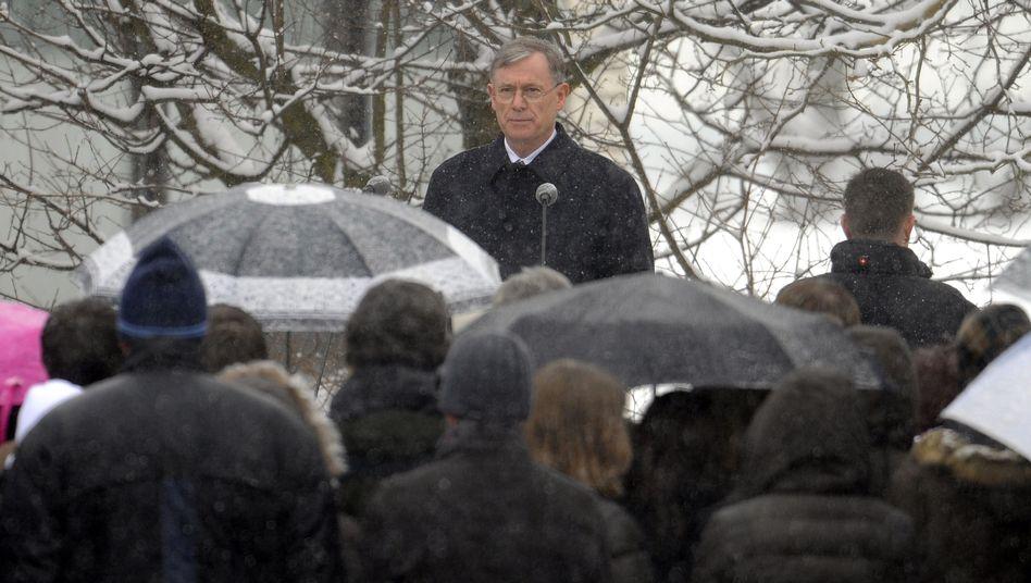 """Bundespräsident Horst Köhler: """"Wir können darauf achten, dass niemand abseits bleibt"""""""