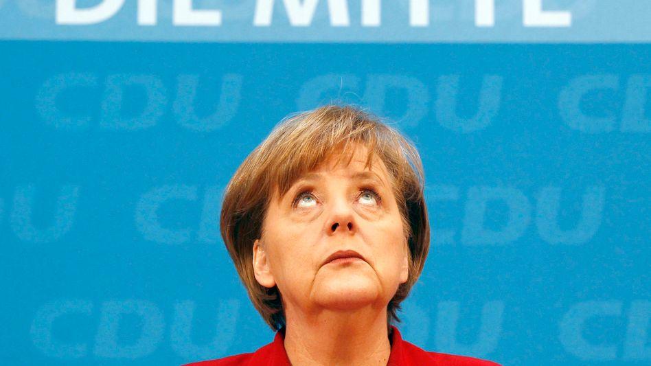 Bundeskanzlerin Angela Merkel: Zerwürfnis mit den Wirtschaftsbossen