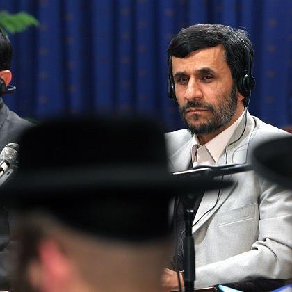 """Mahmud Ahmadinedschad bei der Holocaust-Leugner-Konferenz in Teheran: """"Countdown für den Zerfall Israels"""""""