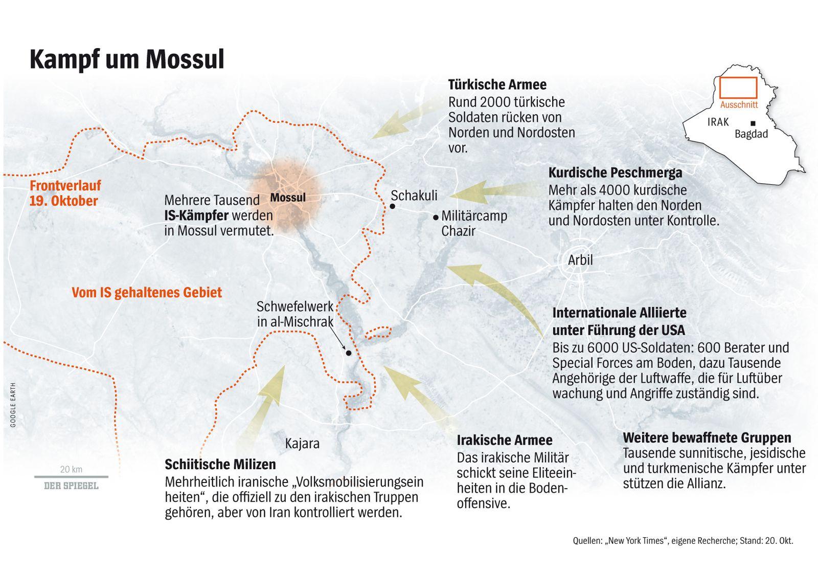 SPIEGEL Plus SPIEGEL 43/2016 S.82 Sturm auf Mossul