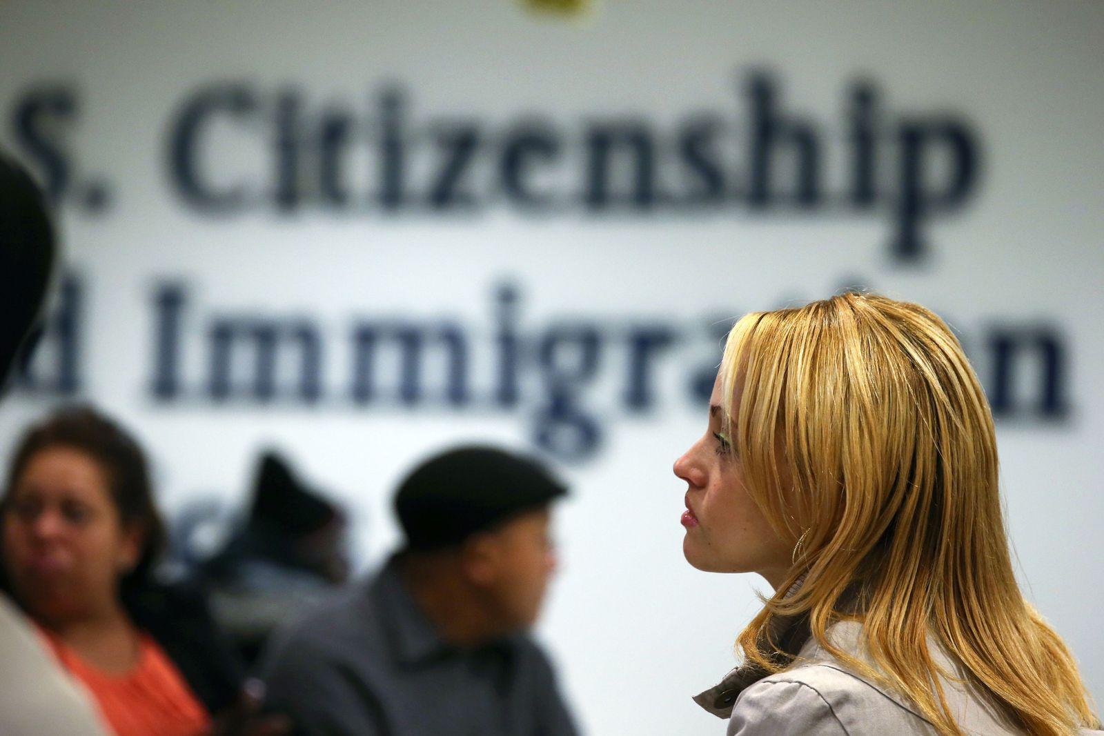 USA / Einwanderung / Einwanderer / Einwanderung / Einwandern