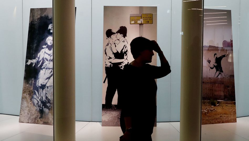 Banksy-Ausstellung (Archiv)