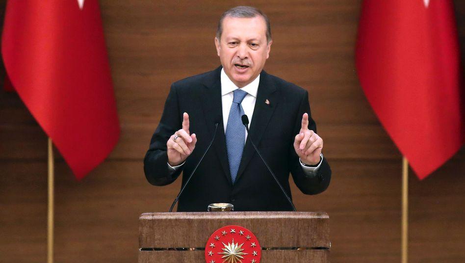 Präsident Erdogan herrscht zunehmend autoritär