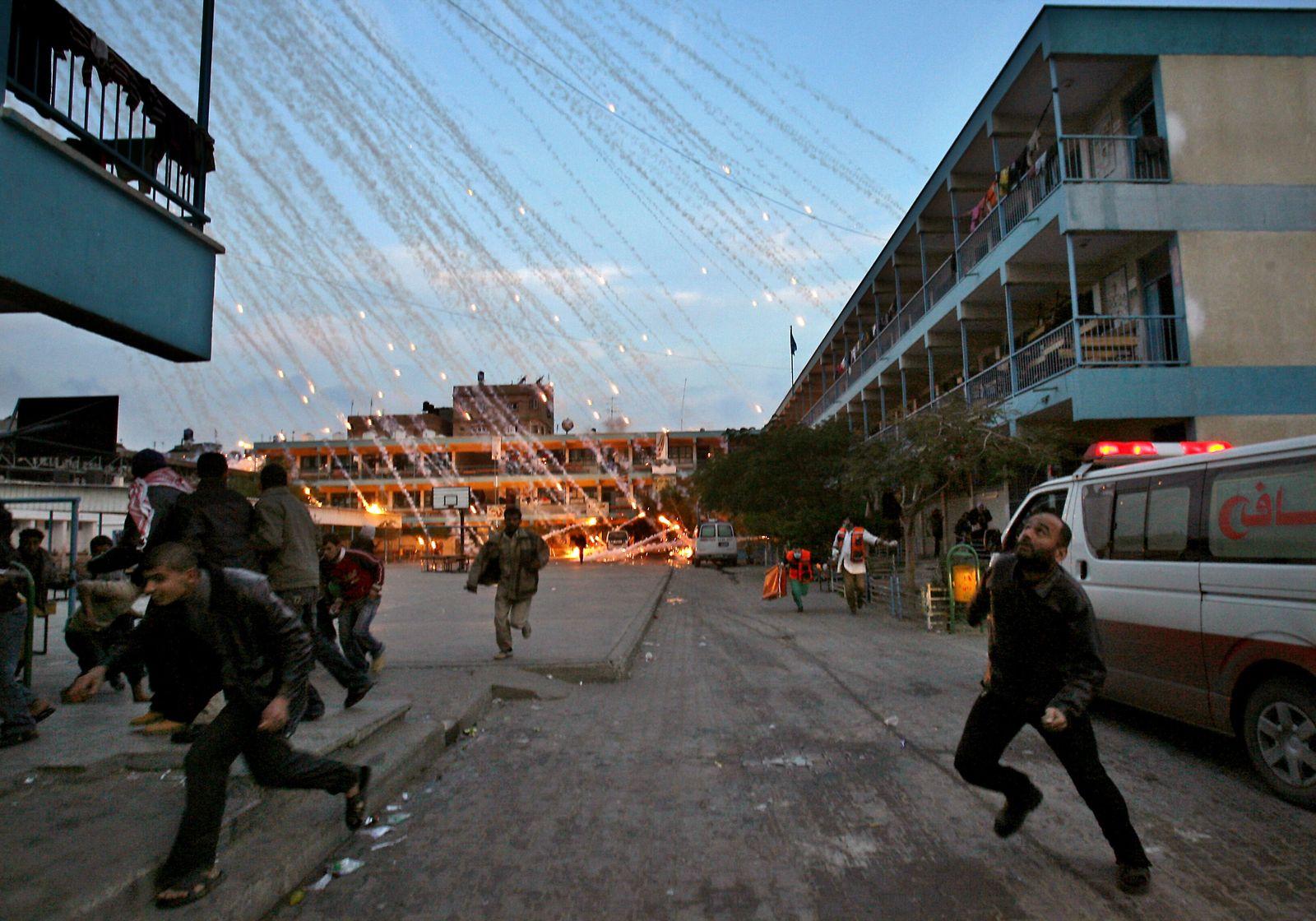 YEARENDER 2009-MIDEAST-ISRAEL-GAZA-CONFLICT-UN