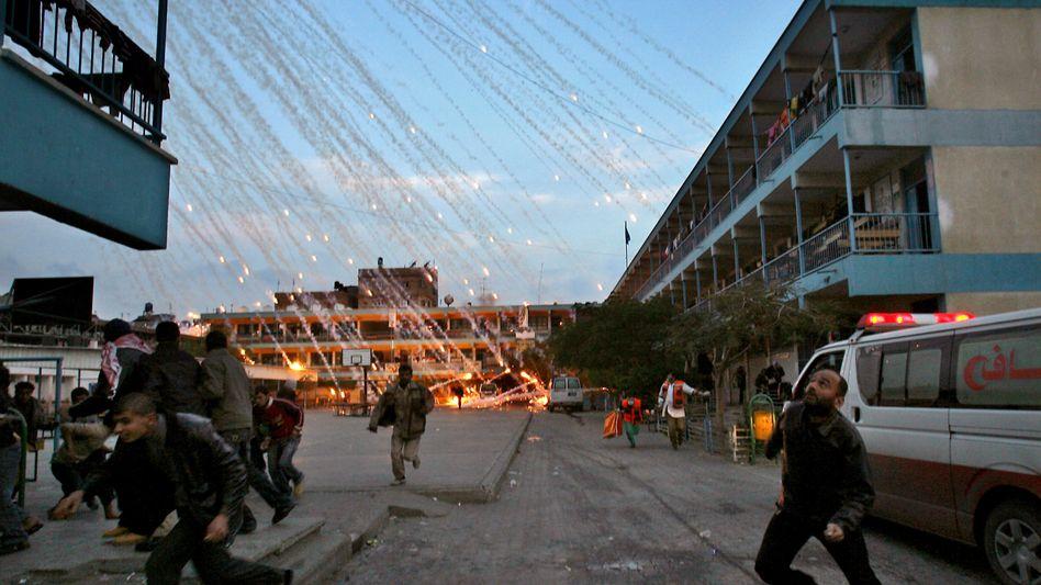 Angriff auf Zivilisten in Gaza: Dieses Bild kursiert im Netz - es stammt jedoch aus dem Jahr 2009