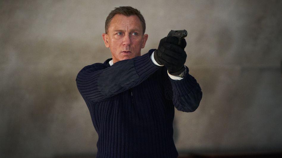 Daniel Craig in »Keine Zeit zu sterben«