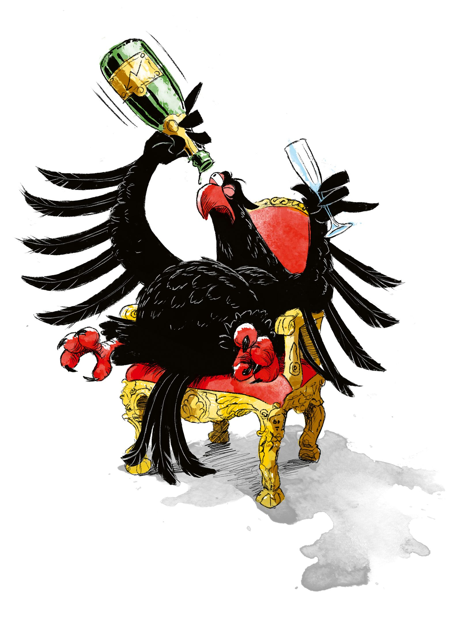 Adler Samson / SPIEGEL Titel-Bild