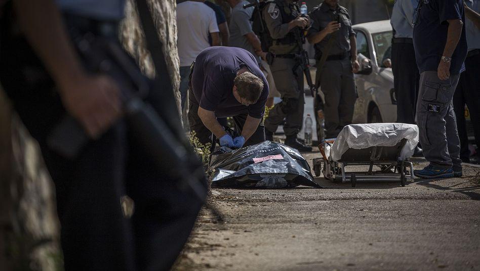 Helfer am Tatort: Mehrere minderjährige Täter sind tot