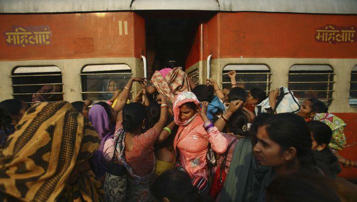 Sicherheit in Indien: Zugreisen für Frauen