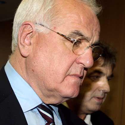 Peter Hartz im Landgericht Braunschweig: Die Anklage hatte ihm Untreue in 44 Fällen vorgeworfen