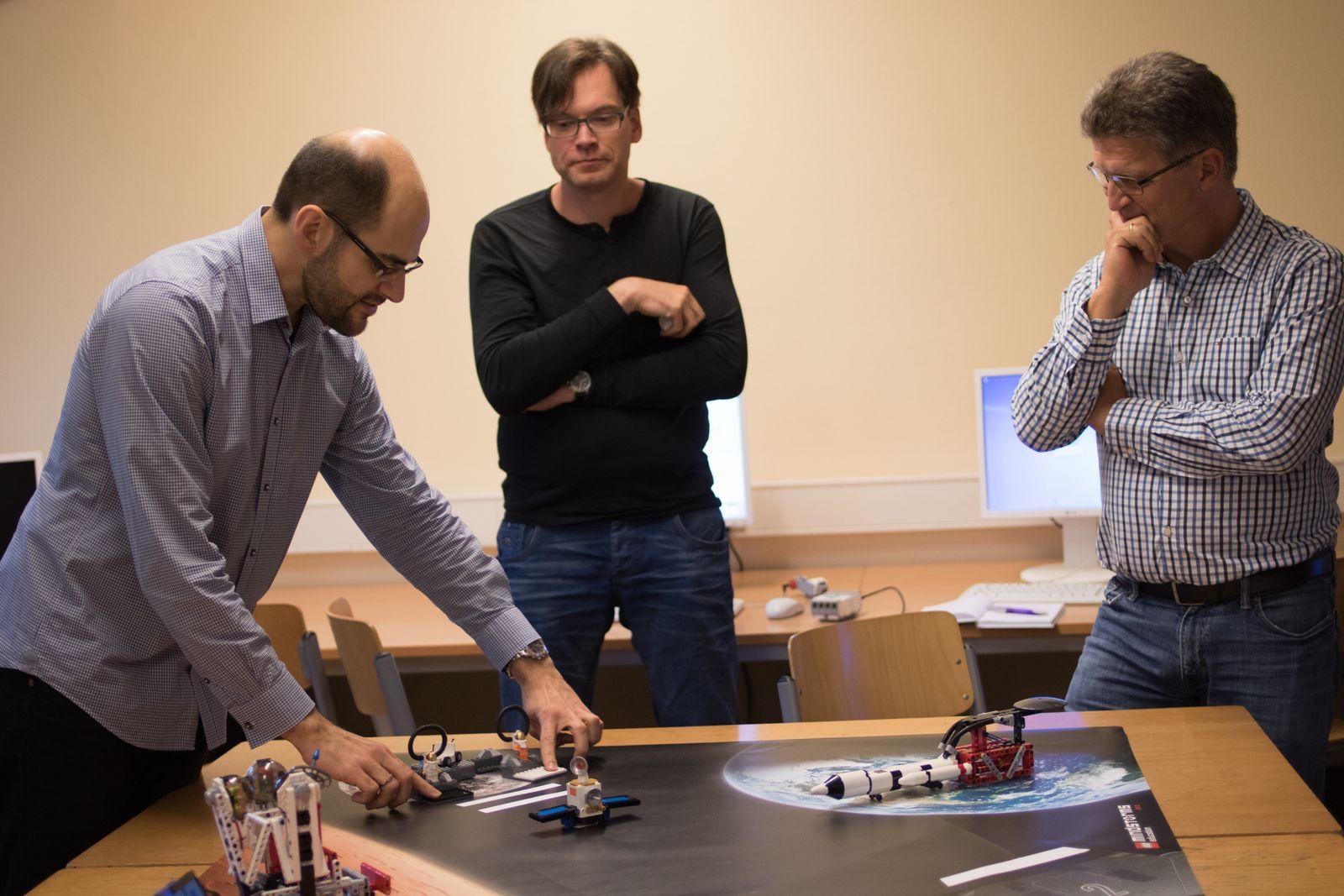 EINMALIGE VERWENDUNG Lego Workshop Schule