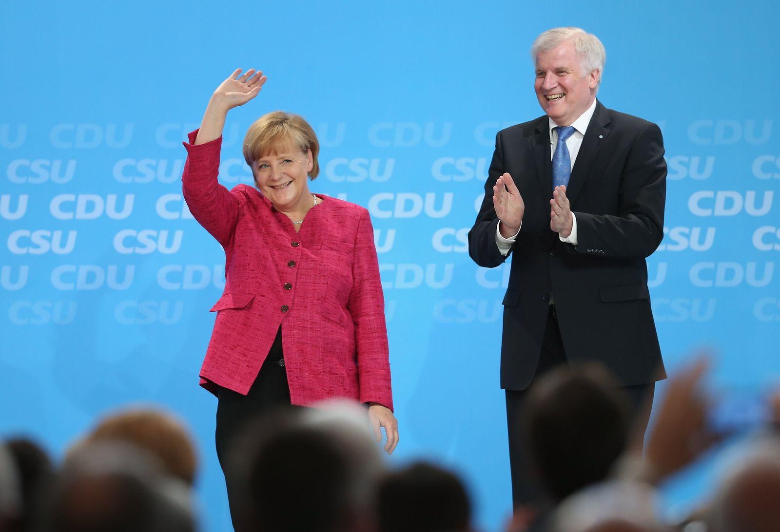 Merkel/Seehofer