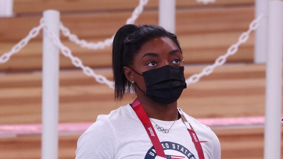 Simone Biles wird am Schwebebalken an den Start gehen