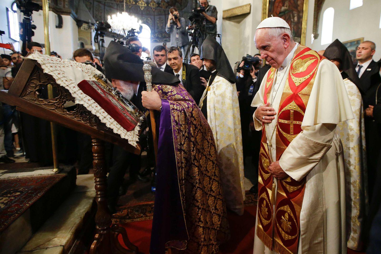 Papst in Armenien